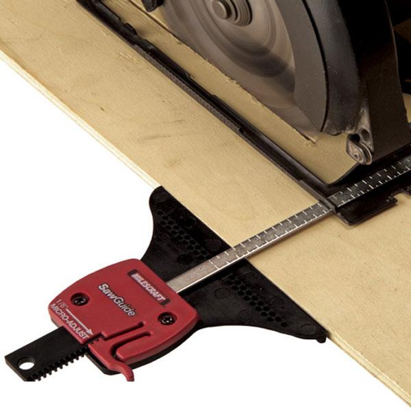 Sawguide milescraft exceptional flexibility and precision when cutting with a jig saw or circular saw keyboard keysfo Choice Image