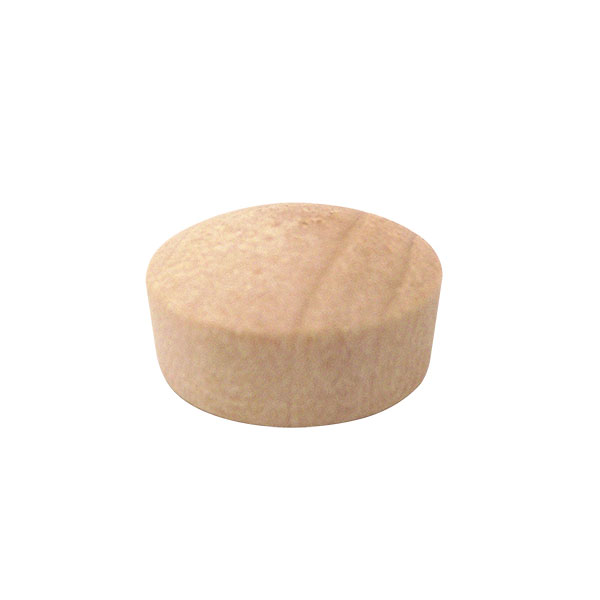 """Wolfcraft ROUND HEAD PLUGS 1//4/"""" Natural Birch 25pc Sanded Unfinished 3954405 NEW"""