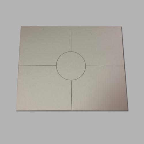 RDC1-10 Mounting Template (Cardboard)