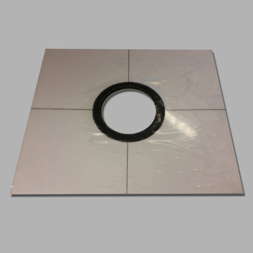 RDC2 Dust Cup Mounting Plate with Velcro Adhesive