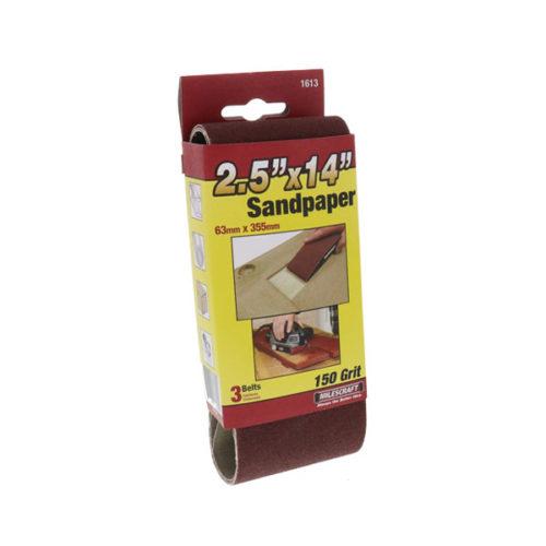 150-Grit Sanding Belts