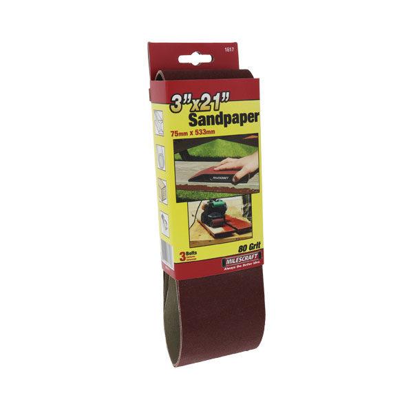 80-Grit Sanding Belt