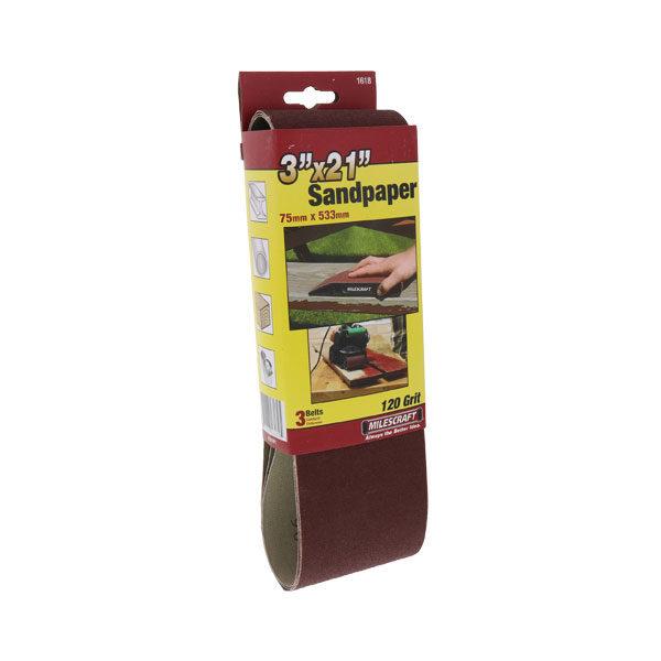 120-Grit Sanding Belt
